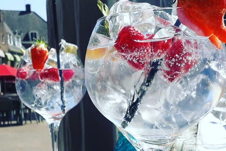 cocktail bij blauw